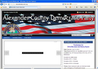 Alexander County Democratic Party, Taylorsville, NC